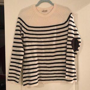Madewell striped sweater